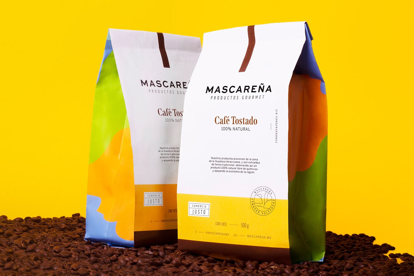 Mascareña天然食品包装设计