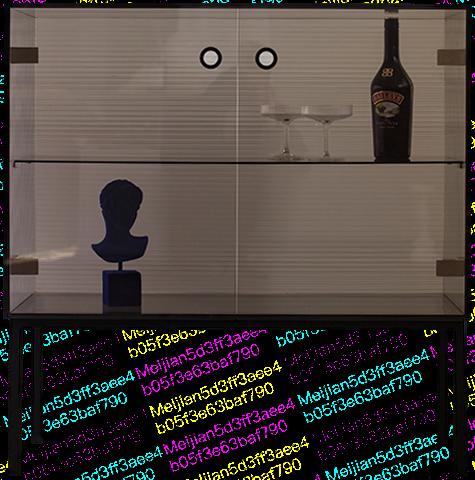 【SUFAN】舒梵原创设计壁影玻璃边柜 设计师系列
