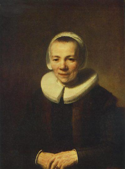《Portrait of Baartgen Martens Doomer》伦勃朗·哈尔曼松·凡·莱因