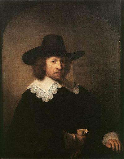《Portrait of Nicolaas van Bambeeck》伦勃朗·哈尔曼松·凡·莱因