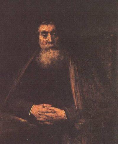 《Portrait of an Old Man》伦勃朗·哈尔曼松·凡·莱因
